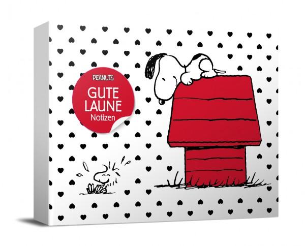 """Peanuts Haftnotiz-Box """"Gute-Laune-Notizen"""" - monbijou"""