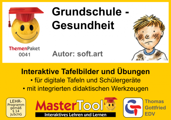 MasterTool - Grundschule - Gesundheit (TP 41)