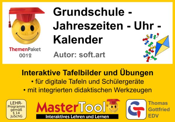 MasterTool - Grundschule - Jahreszeiten - Uhr - Kalender (TP12)