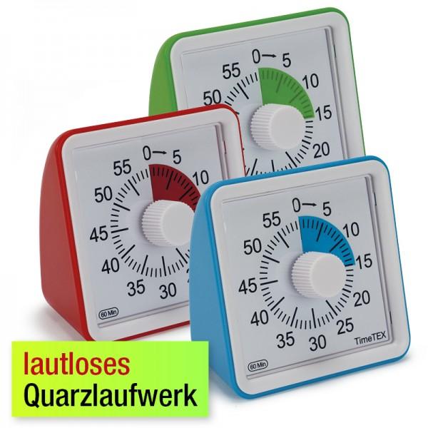 """Zeitdauer-Uhr """"lautlos"""" compact"""