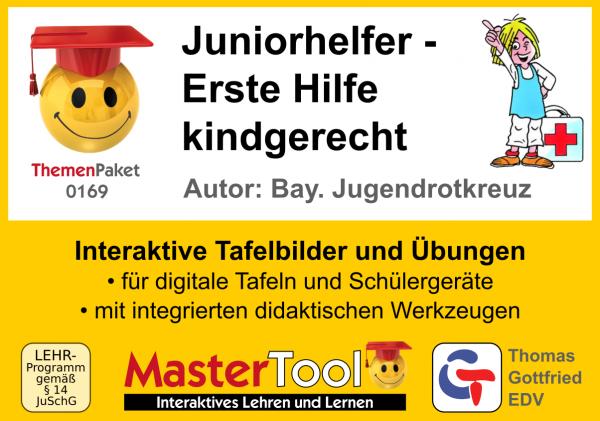 MasterTool - Juniorhelfer - Erste Hilfe kindgerecht (TP 169)
