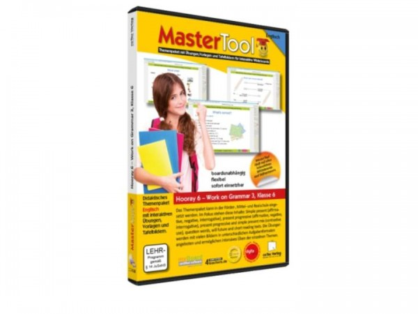 MasterTool - Englisch - Hooray 6 - Work on Grammar 3 - Klasse 6 (151)