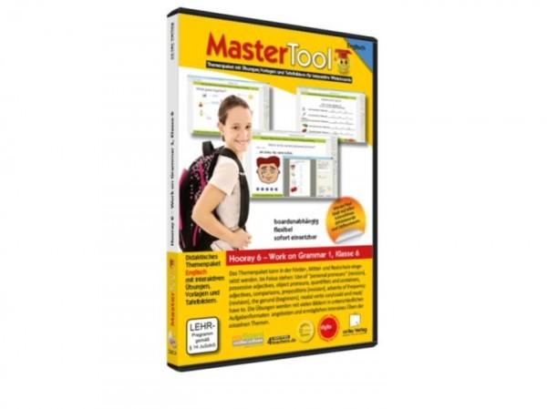 MasterTool - Englisch - Hooray 6 - Work on Grammar 1 - Klasse 6 (149)