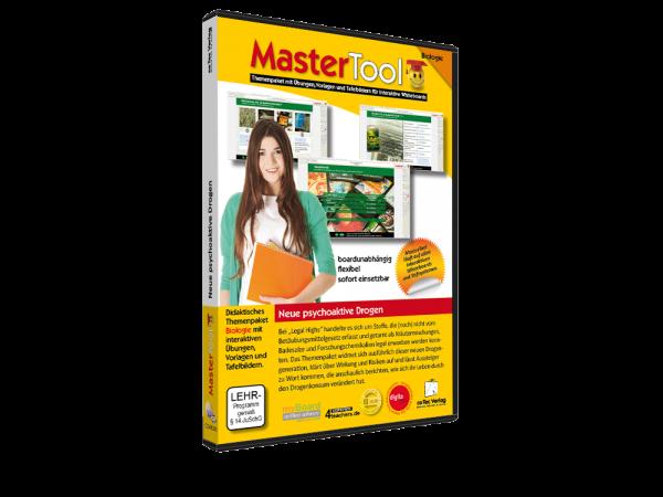 MasterTool - Neue psychoaktive Drogen - 50 interaktive Lernblätter zur Drogenprävention