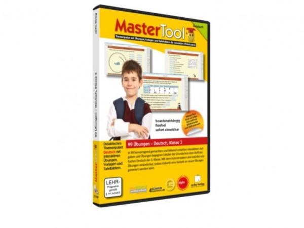 MasterTool - 99 Übungen für die Grundschule: Deutsch Klasse 3 (147)