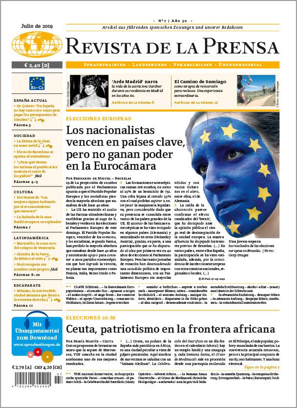 Revista de la Prensa Jahresabo PRINT (12 Ausgaben im Jahr)