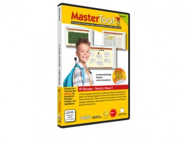 MasterTool - 99 Übungen für die Grundschule: Deutsch Klasse 2 (142)