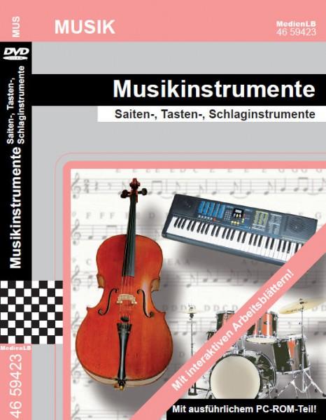 Musikinstrumente - Saiten-, Tasten-, Schlaginstrumente