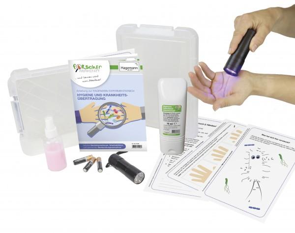 """Experimentier-Box """"Hygiene und Krankheitsübertragung"""", 6-tlg."""