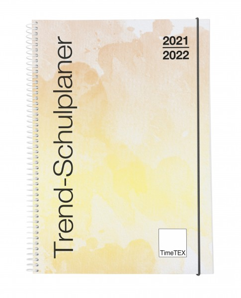 Trend-Schulplaner A4. 2021/2022 in verschiedenen Farben