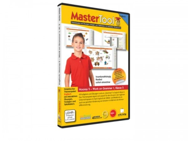 MasterTool - Englisch - Hooray 5 - Work on Grammar 1 - Klasse 5 (131)