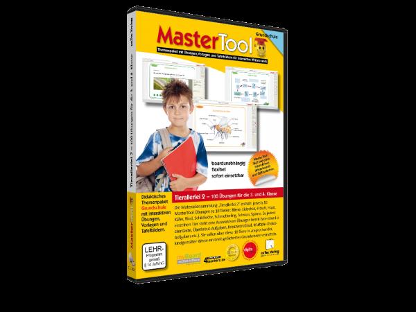 MasterTool - Tierallerlei 2 - 100 Übungen für die 3. und 4.Klasse (196)