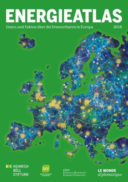 Energieatlas 2018: Daten und Fakten über die Erneuerbaren in Europa