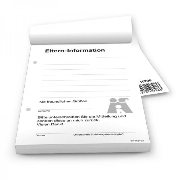 Block Eltern-Informationen A6, 50 Blatt mit Durchschlag