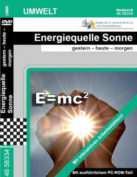 Energiequelle Sonne - gestern - heute - morgen
