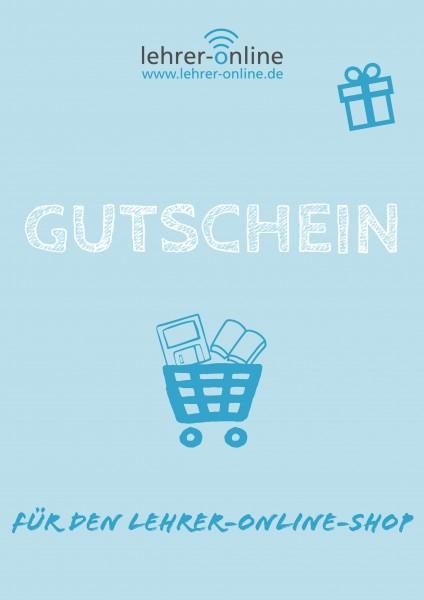 Lehrer-Online Shop-Gutschein
