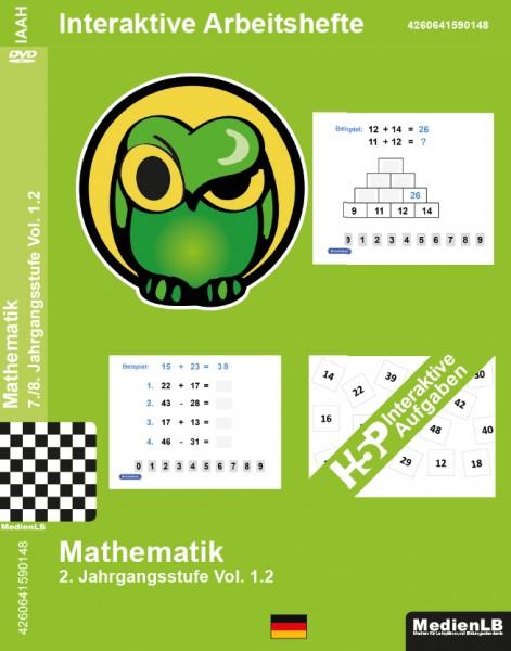 Mathematik Grundschule 2. Jahrgangsstufe, Vol. 1.2