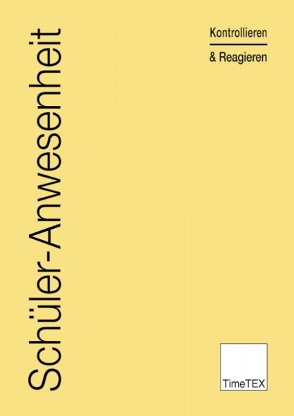 Heft Schüler-Anwesenheit A4