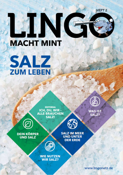 Lingo macht MINT-Magazin - Heft 2 Salz zum Leben