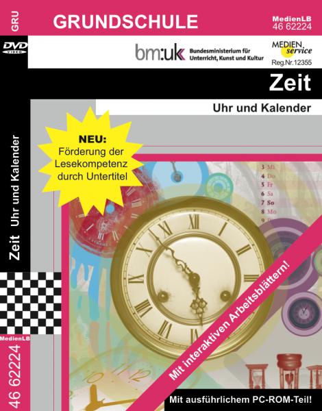 Zeit - Uhr und Kalender