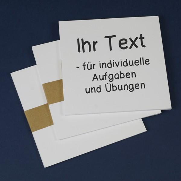 Blanko-Einsteckkarten 36-tlg., ca. 13,5 x 13,5 cm