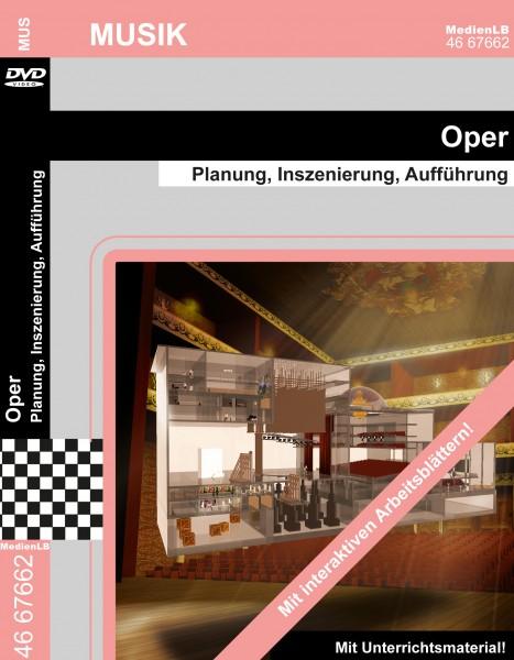 Oper - Planung, Inszenierung, Aufführung
