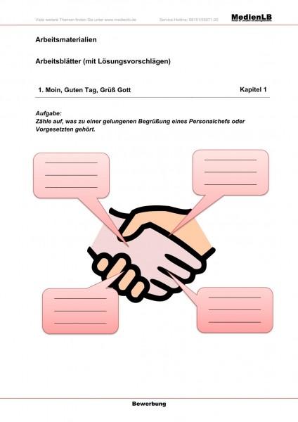 Berufsbildung Bewerbung - Arbeitsblätter mit Lösungen
