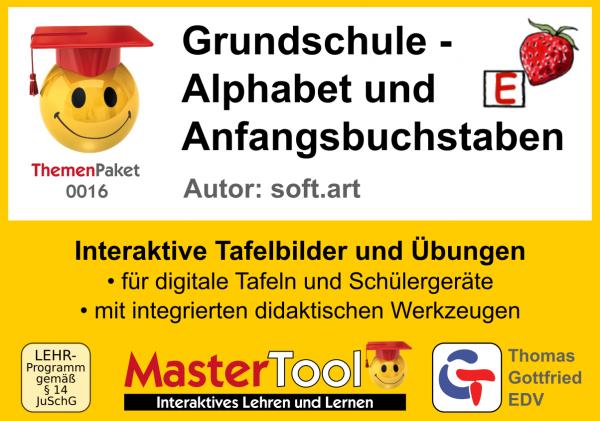 MasterTool - Grundschule - Alphabet und Anfangsbuchstaben (TP 16)