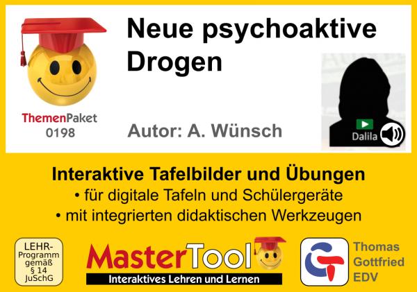 MasterTool - Neue psychoaktive Drogen (TP 198)