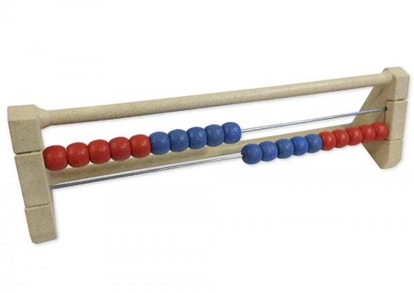 Rechenrahmen für 20-er Zahlenraum rot/blau