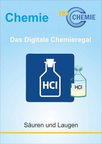 Digitales Chemieregal: Säuren und Laugen (CH 303)