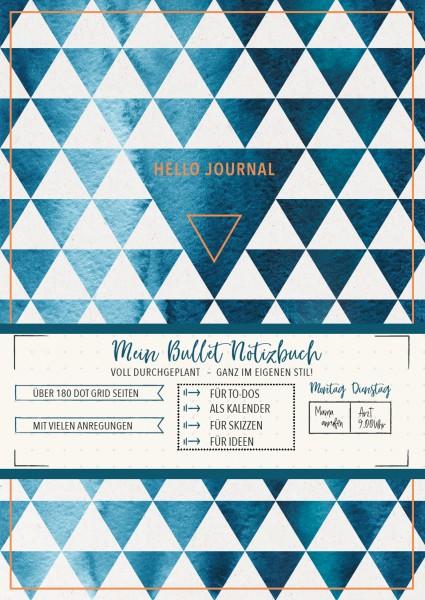 Hello Journal Bullet Notizbuch (Geo love) - monbijou