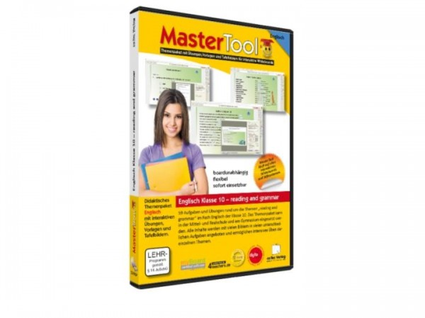 MasterTool - Englisch Klasse 10 - reading and grammar (167)