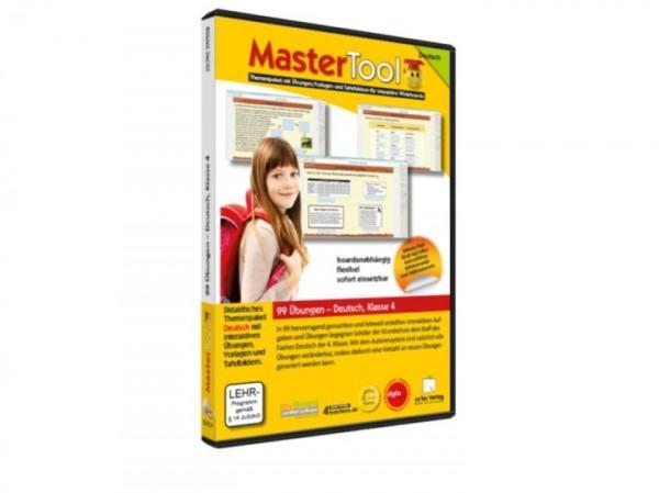 MasterTool - 99 Übungen für die Grundschule: Deutsch Klasse 4 (155)