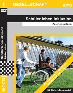 Schüler leben Inklusion: DVD mit Unterrichtsmaterial, interaktiven Übungen