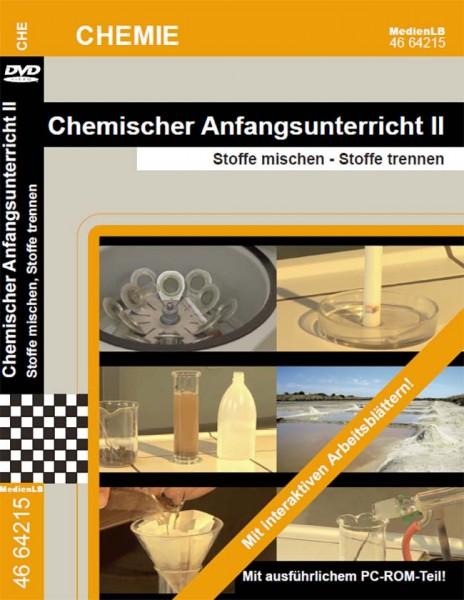 Chemischer Anfangsunterricht II - Stoffe mischen, Stoffe trennen