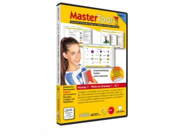 MasterTool - Englisch - Hooray 7 - Work on Grammar 1 - Klasse 7 (158)