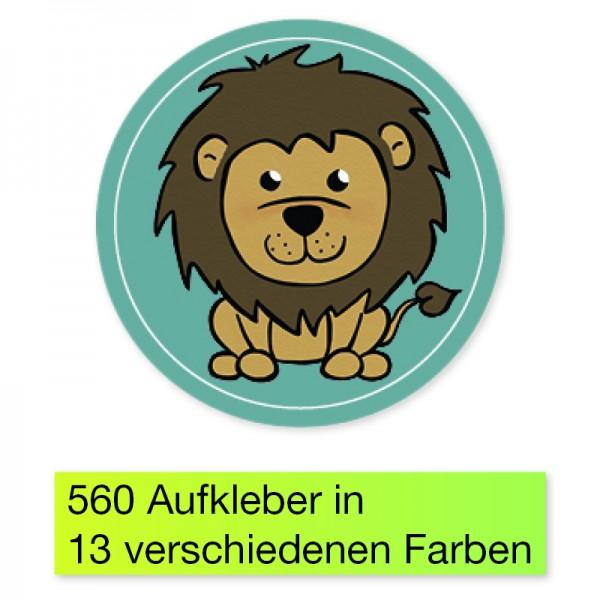 "Belobigungs-Aufkleber ""Löwe"", 560 Stk., 19 mm ø"