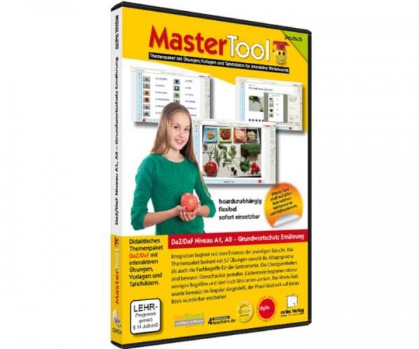MasterTool - DaZ/DaF Niveau A1_A2 - Grundwortschatz Ernaehrung (171)