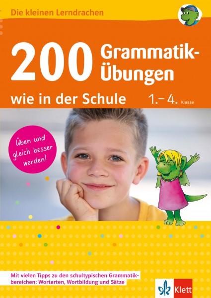 Klett 200 Grammatik-Übungen wie in der Schule