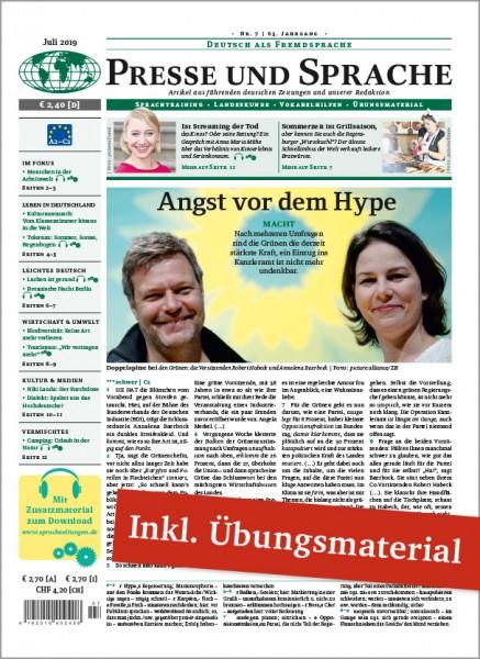 Presse und Sprache Jahresabo PREMIUM (12 Ausgaben + digitales Unterrichtsmaterial)