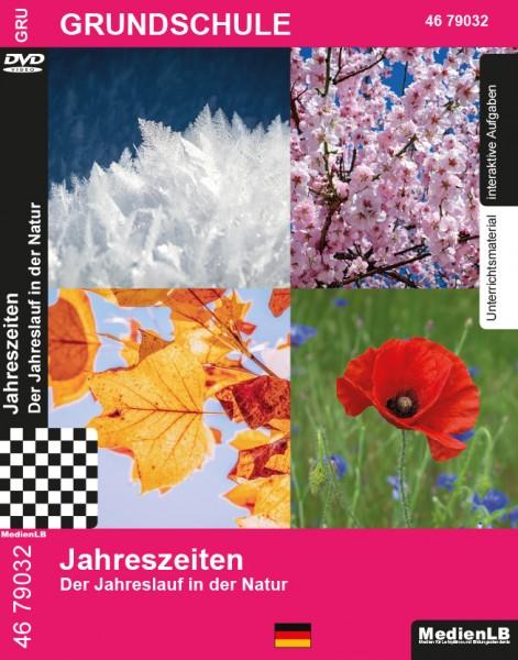 Jahreszeiten - Der Jahreslauf in der Natur: DVD mit Unterrichtsmaterial, interaktiven Übungen