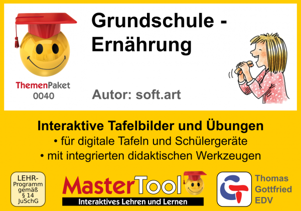 MasterTool - Grundschule - Ernährung (TP 40)