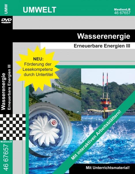Wasserenergie - Erneuerbare Energien III