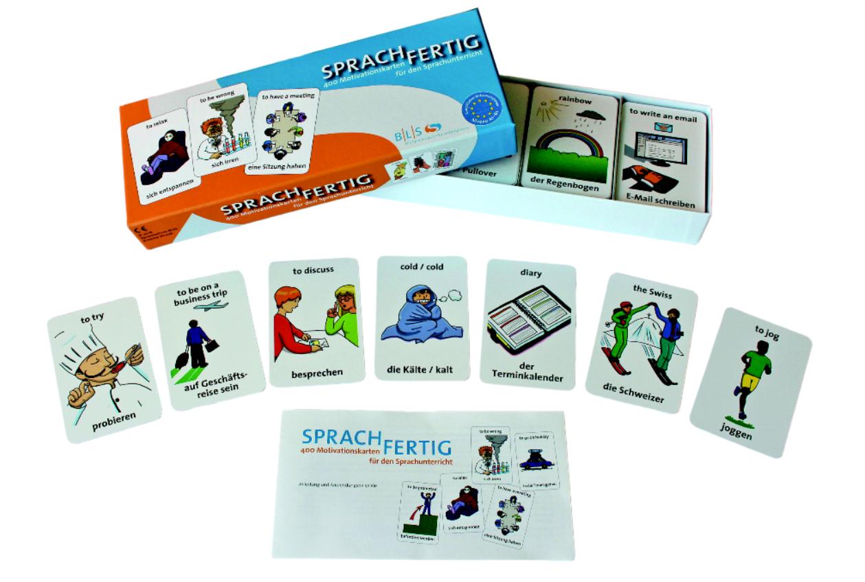 """Sprachfertig"" Motivationskarten"