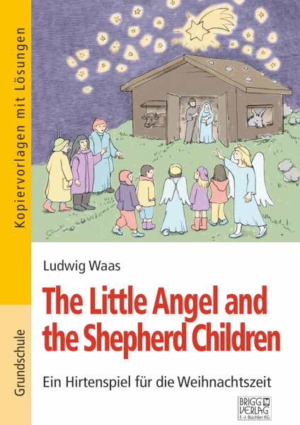 The Little Angel and the Shepherd Children Print oder E-Book