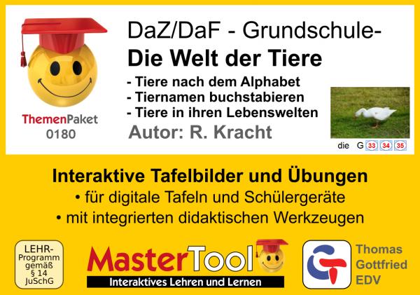 MasterTool - Die Welt der Tiere (TP 180)