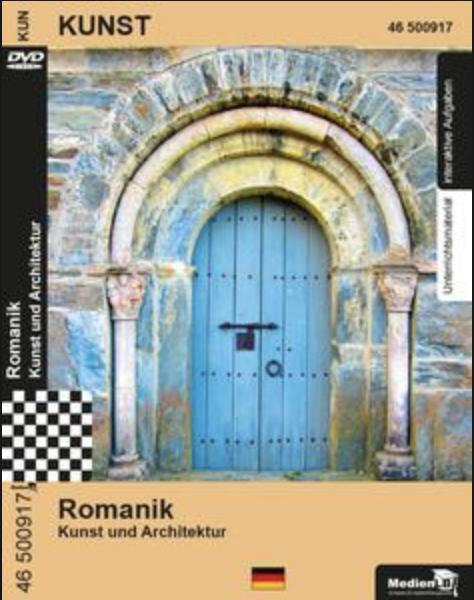Romanik - Kunst und Architektur: DVD mit Unterrichtsmaterial, interaktiven Übungen