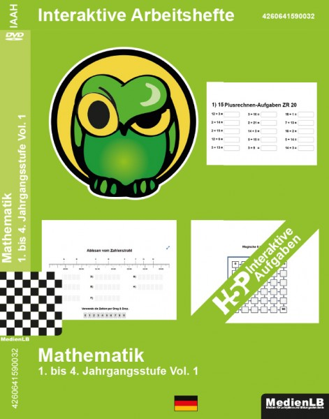 Interaktives Arbeitsheft Mathematik 1-4, Vol. 1