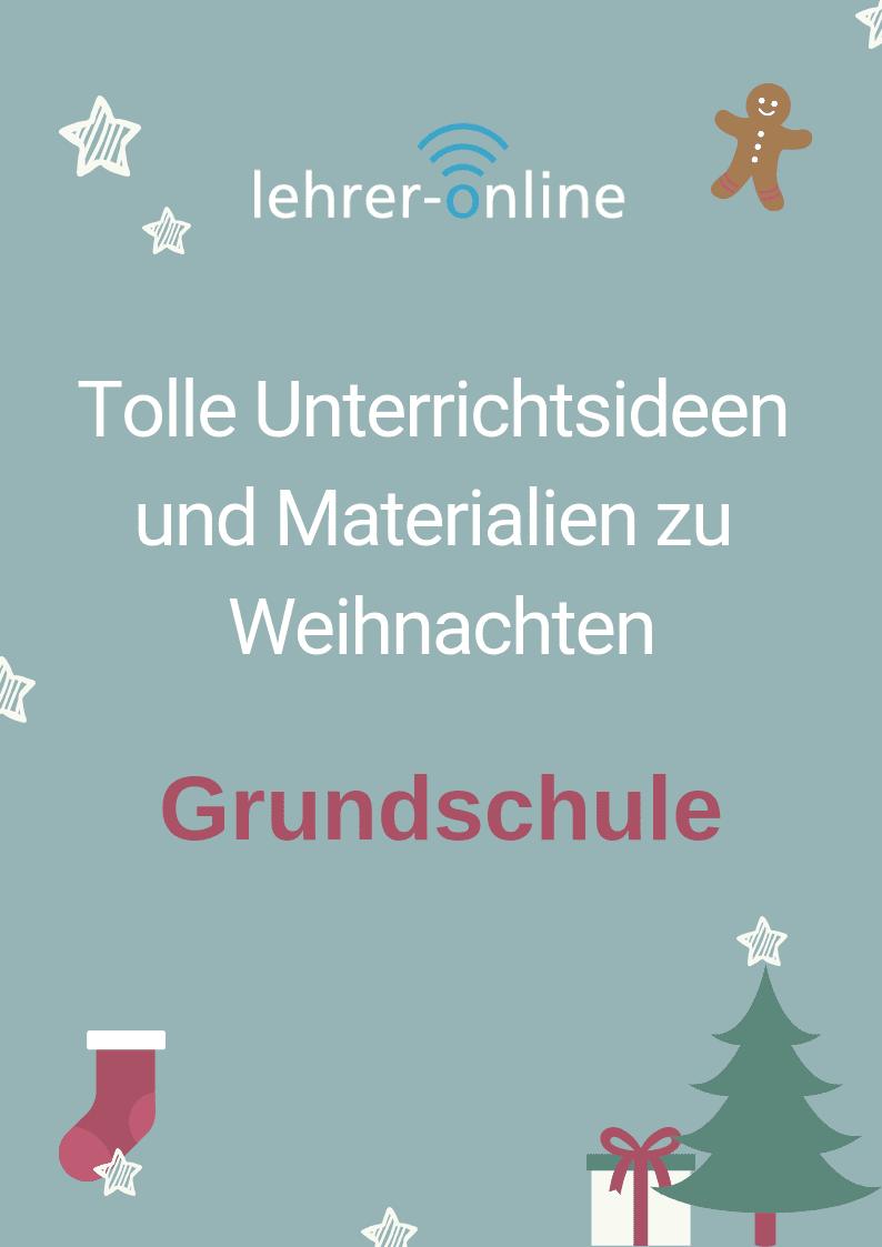 Advent und Weihnachten: Arbeitsblätter für die Grundschule